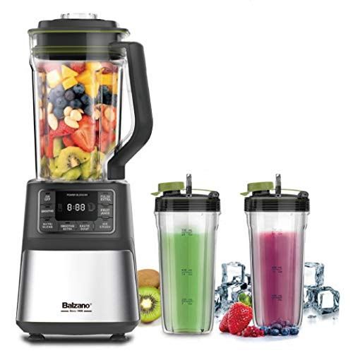 Balzano Power Blender OK1801A, Stand mixer and smoothie maker, 7 programs, 1200W, BPA-free storage bottles