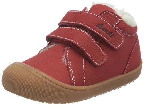 Lurchi Baby-Mädchen IRU Sneaker, RED, 20 EU