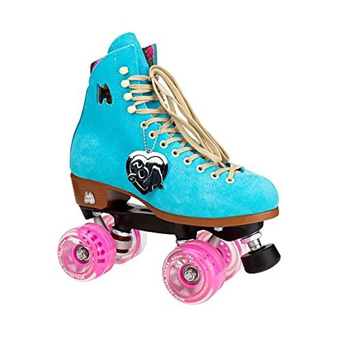 Moxi Skates - Malibu Barbie Limited Edition - Fun and Fashionable Womens Quad Roller Skate | True...
