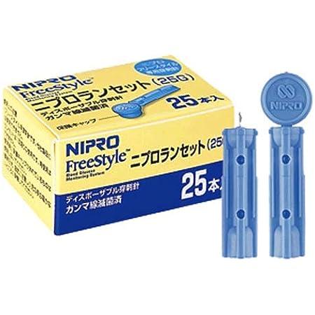 ニプロ ランセット(穿刺針) 25G 1箱25本入×5箱セット