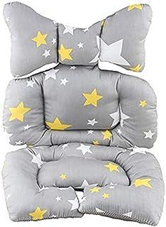 مقعد سيارة للرضع، وسادة دعم رأس وجسم لعربة الاطفال، وسادة مقعد الرضع، وسادة دعم لرقبة للاطفال الصغار، ستار
