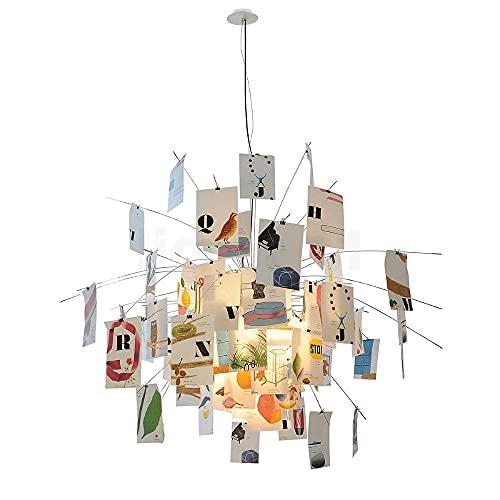 Ingo Maurer Zettel'z 5 Munari lámpara colgante