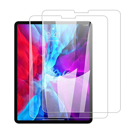 [2-Pack] Screen Protector for iPad Air 4 (10.8 Inch 2020 Model) HD Clear 9HTempered Glass Film Ultra-Thin,Scratch and Impact Protection-Clear