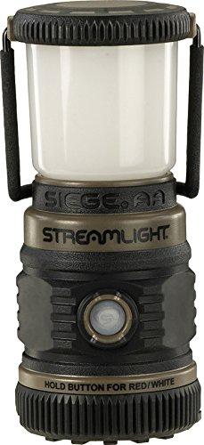 Streamlight 44941 Siege 200 Lumen UltraCompact Work Lantern Coyote Green 3xAA Battery