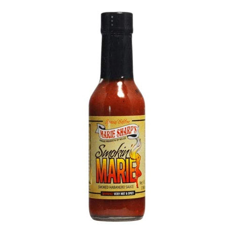 Marie Sharp's Smokin' Marie Habanero Sauce - 10 oz.