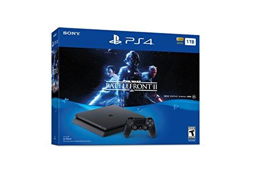 PlayStation 4 Slim 1TB Console - Star Wars Battlefront II Bundle [Discontinued]