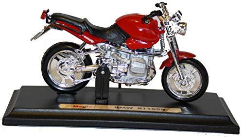 BMW R1100R rot, Maisto Motorrad Modell 1:18