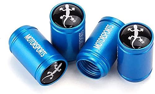 4 Piezas Neumáticos Tapas Válvulas para Volvo All cars, Antipolvo Tapones de Coche Decoración Accesorios