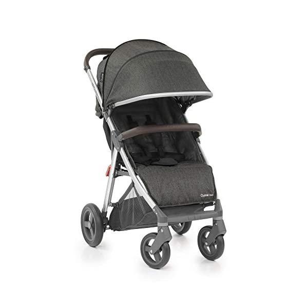 BabyStyle Oyster Zero Pushchair (Pepper) Babystyle Suitable from birth with multi position recline Lightweight only 7.9kg with easy compact fold Extendable hood with small storage pocket 1