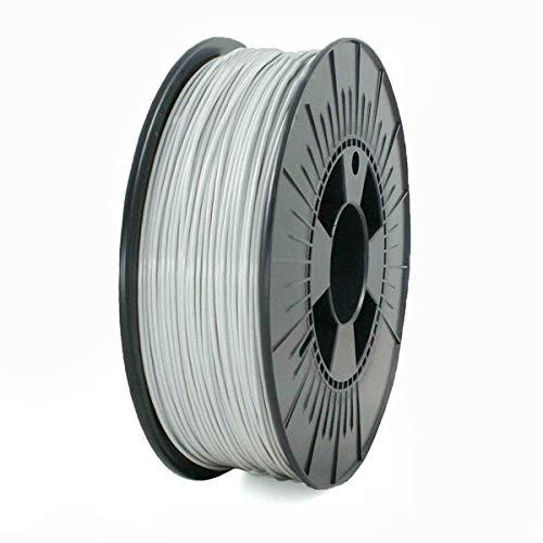 PLA+ Filamento para impresora 3D 1.75mm, 850gr Bobina, (Gris)