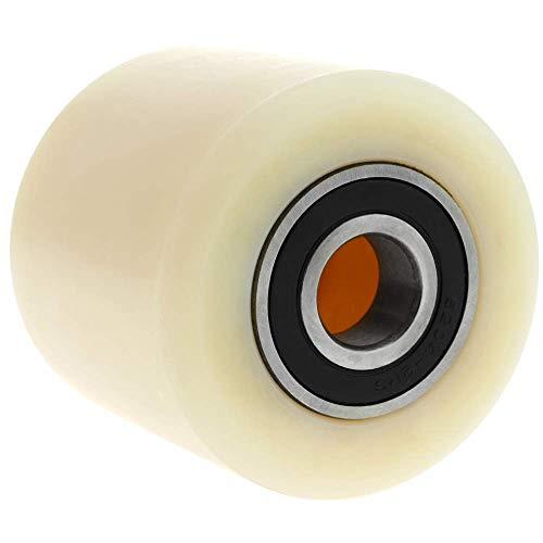 PrimeMatik - Rueda para transpaleta Rodillo de nailon de 80x70 mm 700 Kg