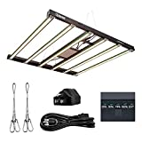 Lucius 600W LED Grow Light 5x5ft Full Spectrum Plant Growing Lamp with 2.85 µmol/J High Efficiency...