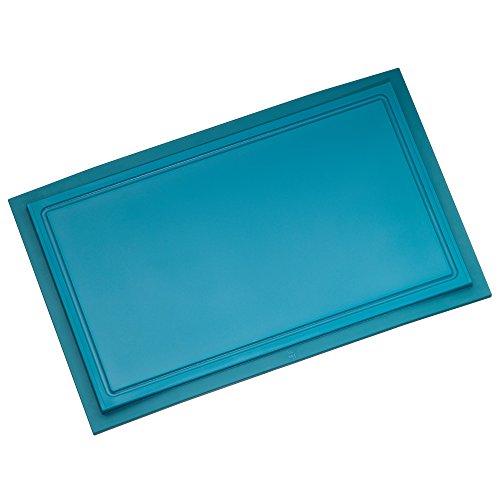 WMF Touch Tabla de Cortar Lagoon de Azul 32x 20cm, Apta para lavavajillas. Zumo surcos schnittfest antiarañazos