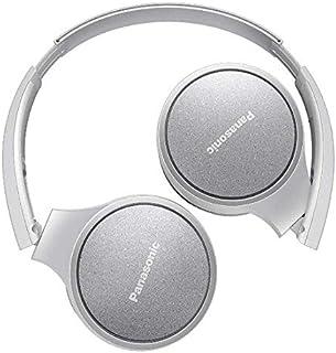 PANASONIC RP-HF410BPUW Audífono de Diadema Bluetooth, 24hrs de reproducción inalámbrica, control inteligente por voz, manos libres, sistema de bajos extra (XBS), plegables, muy ligeros (130g) Color BLANCO