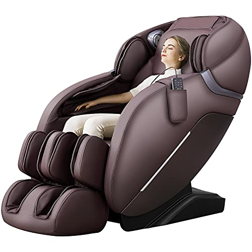 iRest A303 Shiatsu Massage Chair, Full Body Massage Recliner, SL track, Zero Gravity, Spine Massage...
