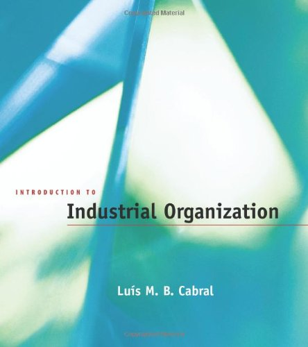 Introduction to Industrial Organization (The MIT Press)の詳細を見る