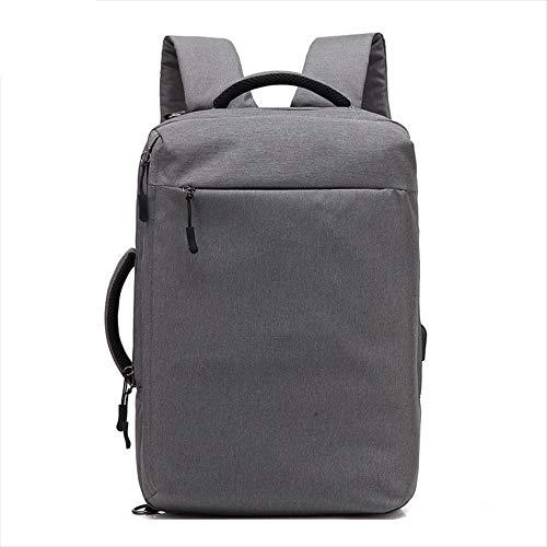 LIUJIE Zaino da Viaggio, 35L Carry-on Zainetto Volo Approvato Laptop espandibile Weekender Multiuso Trip Bag Business Borse con Porta USB di Ricarica,Blue