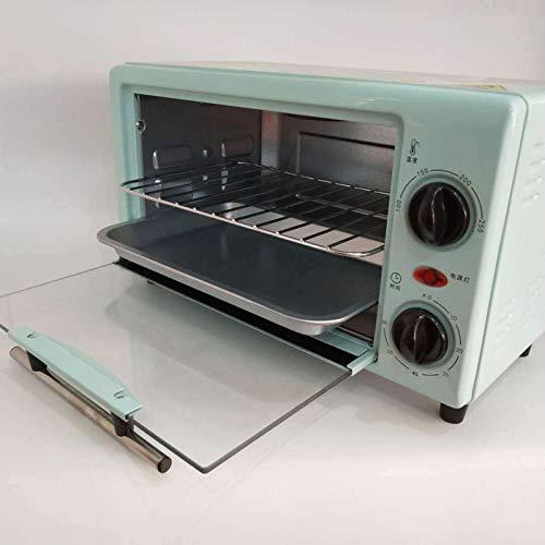 ZXWNB Mini Four Électrique pour, 10 litres 750 Watts Grille-Pain Four À Pizza Plaque De Cuisson avec Minuterie Mini Four pour Pizza Toast Dinde Petit