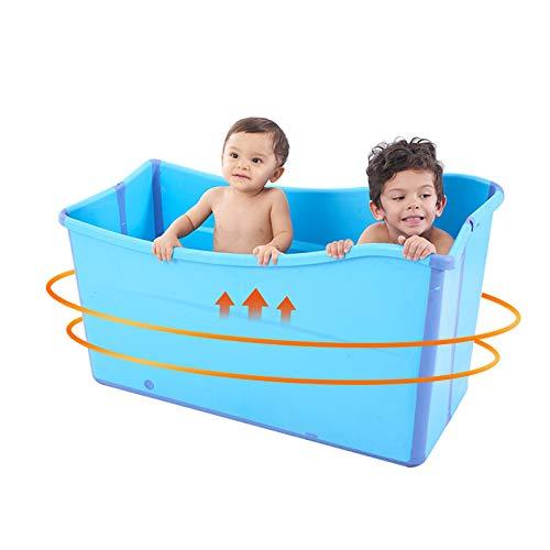 KFYMJ Bañera Plegable,/bañera portátil, bañera Grande, Piscina para niños, Familiares para niños, PVC ecológico