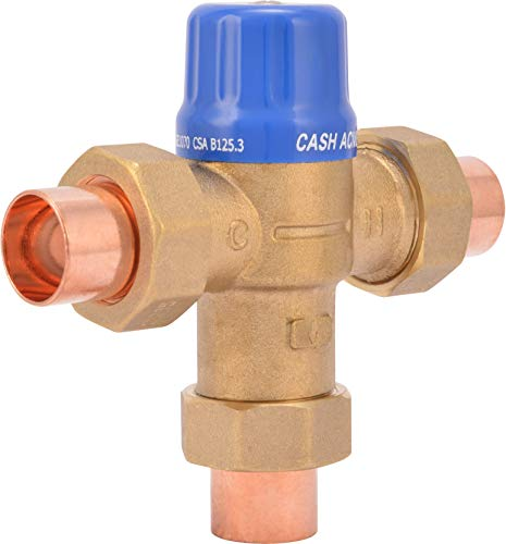 Cash Acme 24502 Thermostatic Mixing Valve, Small, Grey