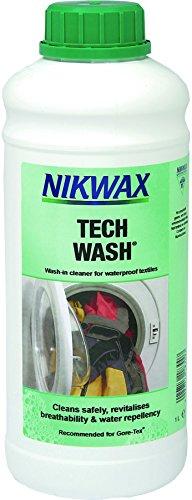 Nikwax Bekleidungswaschmittel Tech Wash, 1l, transparent, One size, 303440000