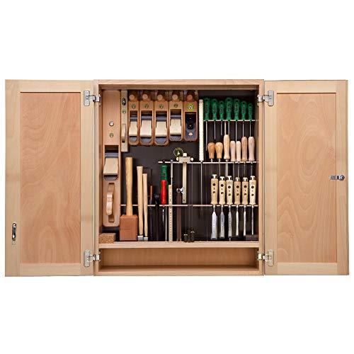 Ulmia–Werkzeug-Schrank mit Werkzeugsatz 316komplett mit Schrank