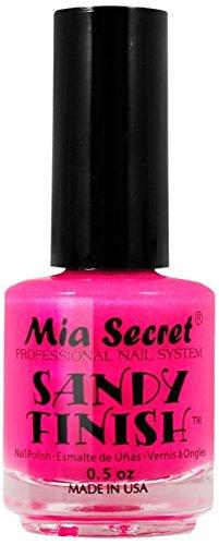 Mia Secret Sandy acabado esmalte de uñas, Rosa 15ml