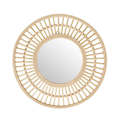 Espejo Pared de bambú