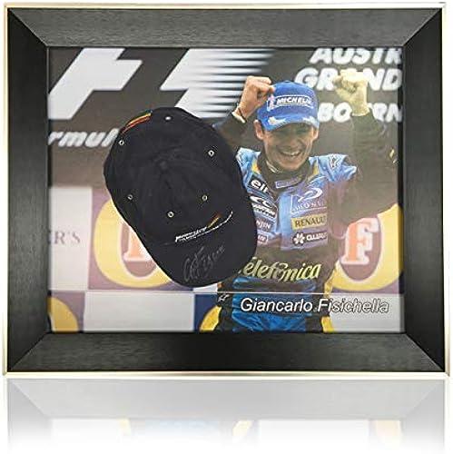 Giancarlo Fisichella Klassischer Kuppelrahmen, Formel 1 Kappe