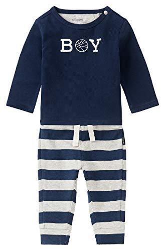 Noppies Baby-Jungen B Nigel Hosen-Set, Peacoat-P590, 86