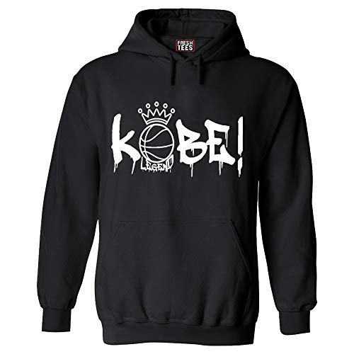 Ko_be! Hoodie| Ko_be Hooded sweatshirt (Black, large)