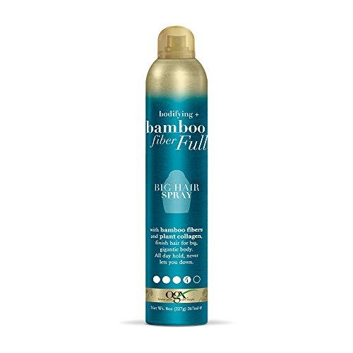 OGX Bodifying + Bamboo Fiber-Full Big Hair Spray, 8 Ounce
