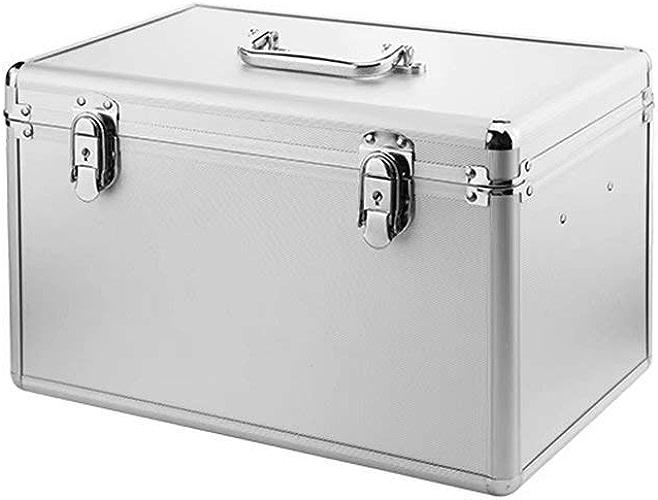 XUE-1 Boîte de Premiers Secours - Boîte médicale, poignée de Transport, Aluminium, 22.5x21x35cm