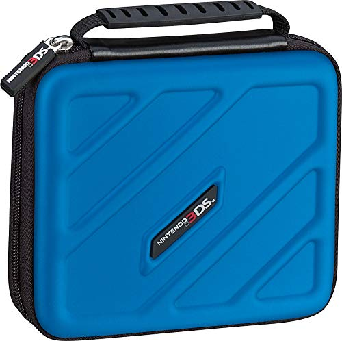 RDS Industries Officially Licensed Hard Protective 3DS Carrying Case - Compatiable with Nintendo 3DS, XL, 2DS, XL, New 3DS, 3Dsi, XL - Includes Game Card Pouch - Nintendo 3DS