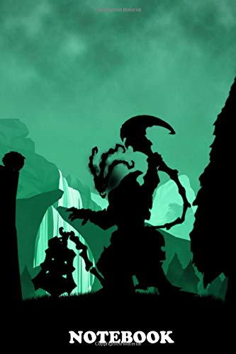Notebook: Thresh League Of Legends , Journal for Writing, College Ruled Size 6' x 9', 110 Pages