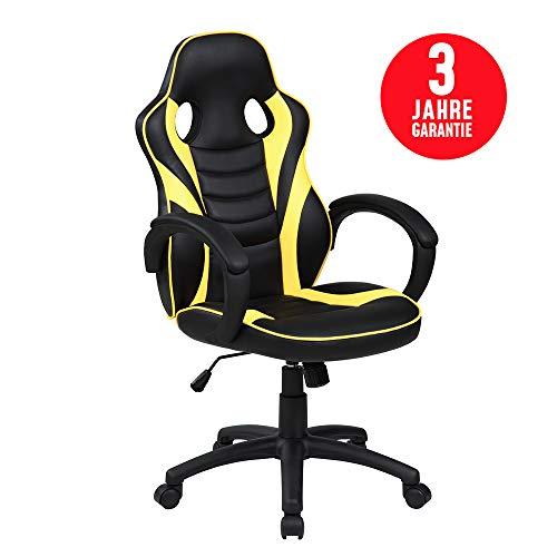 Exclusiver Racing Bürostuhl Chefsessel Drehstuhl SchreibtischstuhlSPS Racing