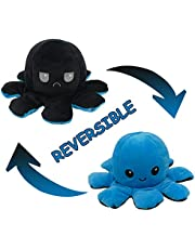 Polpo Double Sided Flip Dolls, Reversible Marine Life Stuffed Animal, Bambini Morbidi e Carini Giocattoli di Peluche per Ragazzi Ragazze, Regalo Della Scuola Regalo di Compleanno Regali di Natale