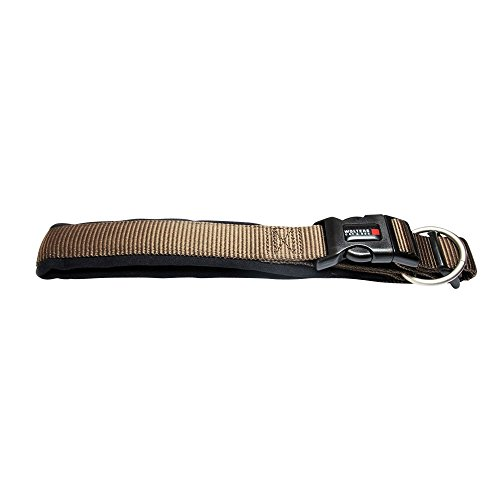 Wolters | Halsband Professional Comfort in Tabac/Schwarz | Halsumfang 55 - 60 cm