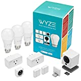 WYZE Cam 1080p HD Indoor Smart Home Camera with Night Vision, 2-Way Audio, Compatible with Alexa & the Google Assistant