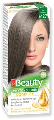 MM Beauty Permanente Haarfarbe MM Beauty Phyto & Farbe 125g - № M27 Aschblond