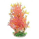 WFAANW Forma de plástico Coral Acuario Plano Fish Tank