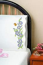 Tobin Stamped Pillowcases, Morning Glories, 20