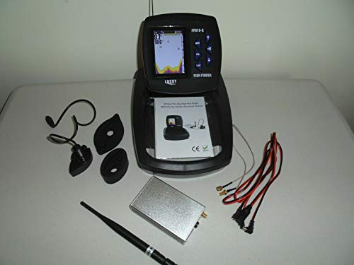 LUCKY Bait Boat Wireless Colour Fish Finder- 300 Metre Range, with Coloured...