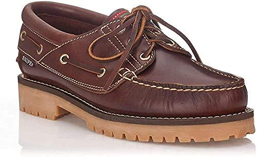 Zapatos Snipe Nautico Cuero