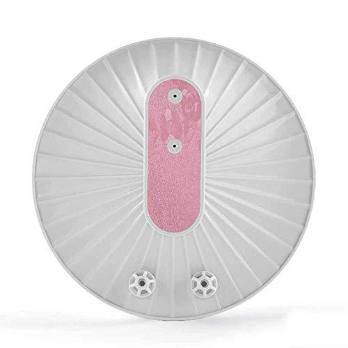 TQMB-A Tragbare Turbine Waschmaschine, Mini-USB-Turbine Waschmaschine, 2 in 1 Hochfrequenz Wäschereinigung für Reisen und Kinder Wäscherei,Rosa
