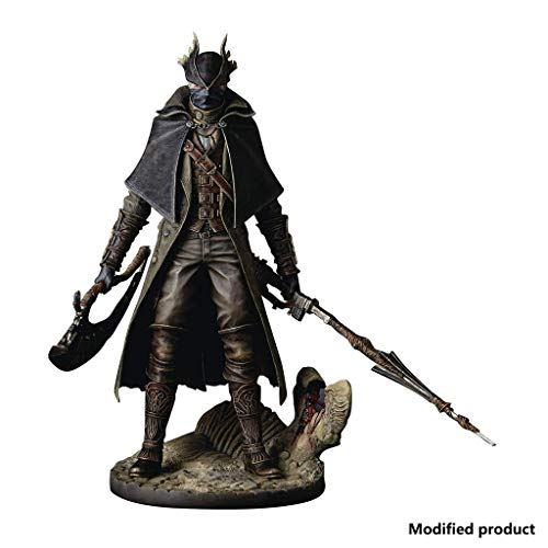 Bloodborne: Hunter Action Figure - Bloodborne The Old Hunters Hunter Statue PVC Figure - Escultura Precisa Altamente Detallada - Alto 12 Pulgadas