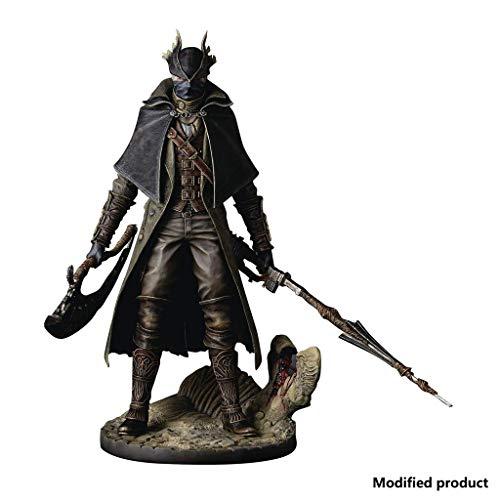 Siyushop Bloodborne: Hunter Action Figure - Bloodborne Die Alten Jäger Hunter Statue PVC-Figur - Hochdetaillierte Präzisionsskulptur - Hoch 12 Zoll