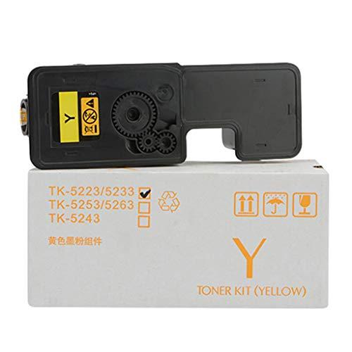 Lxf-xg Adecuado para KYOCERA TK-5242 Cartucho de tóner, Compatible Reemplazar Cartucho de tóner de la Impresora KYOCERA ECOSYS P5026CDN P5026CDW M5526CDN M5526CDW Láser,Yellow