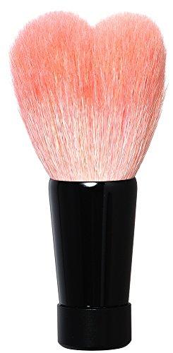 熊野筆 ハート型洗顔ブラシ(中・ブラック軸) KOYUDO Collection