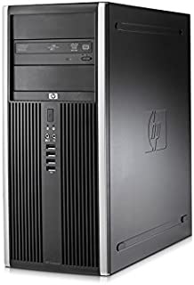 HP Compaq Elite 8000 Computer Tower PC -Intel Core 2 Duo 3.0GHz, 4GB Ram, 500GB HDD, WIFI, Windows 10 Professional (Renewed)